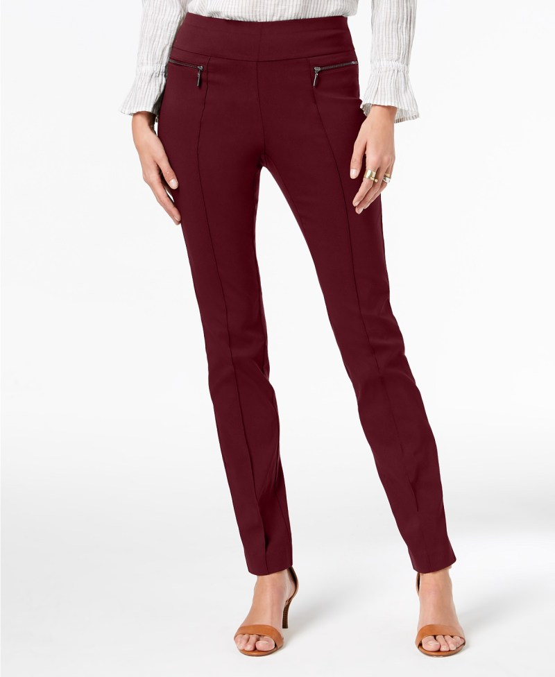style & co pull on skinny pants