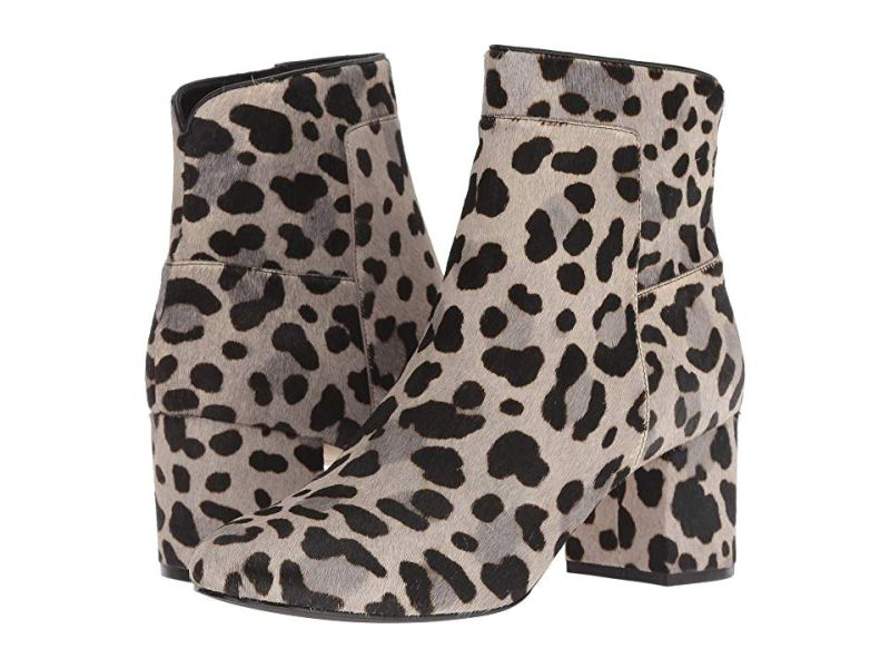 leopard cole haan booties
