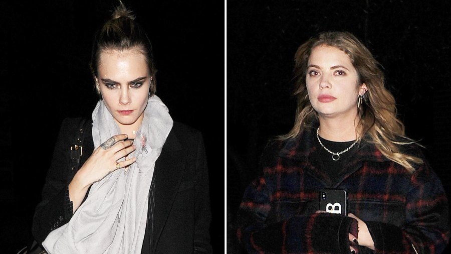 Inside Ashley Benson and Cara Delevingne's Theme Park Date