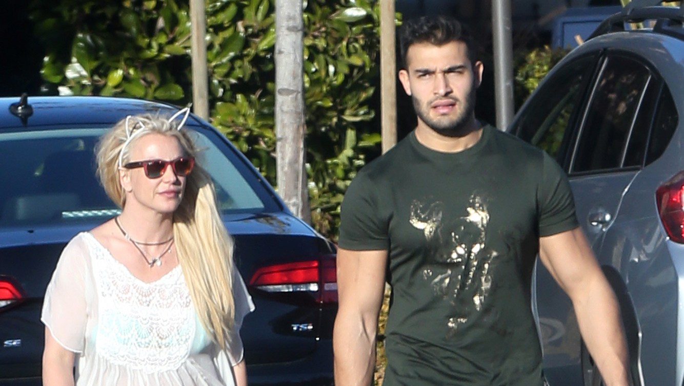 Britney Spears and Boyfriend Sam Asghari Enjoy Her Break From Vegas
