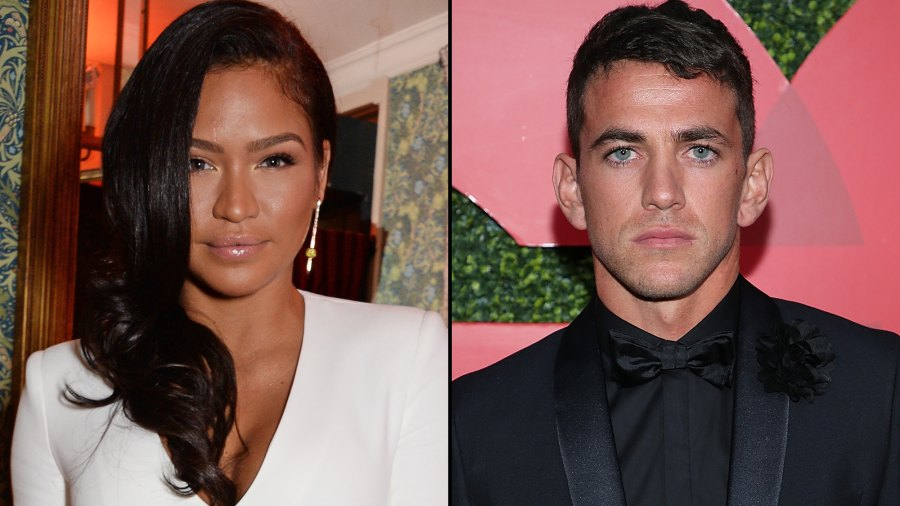 Cassie Ventura kissing Personal Trainer Alex Fine After Split From Diddy