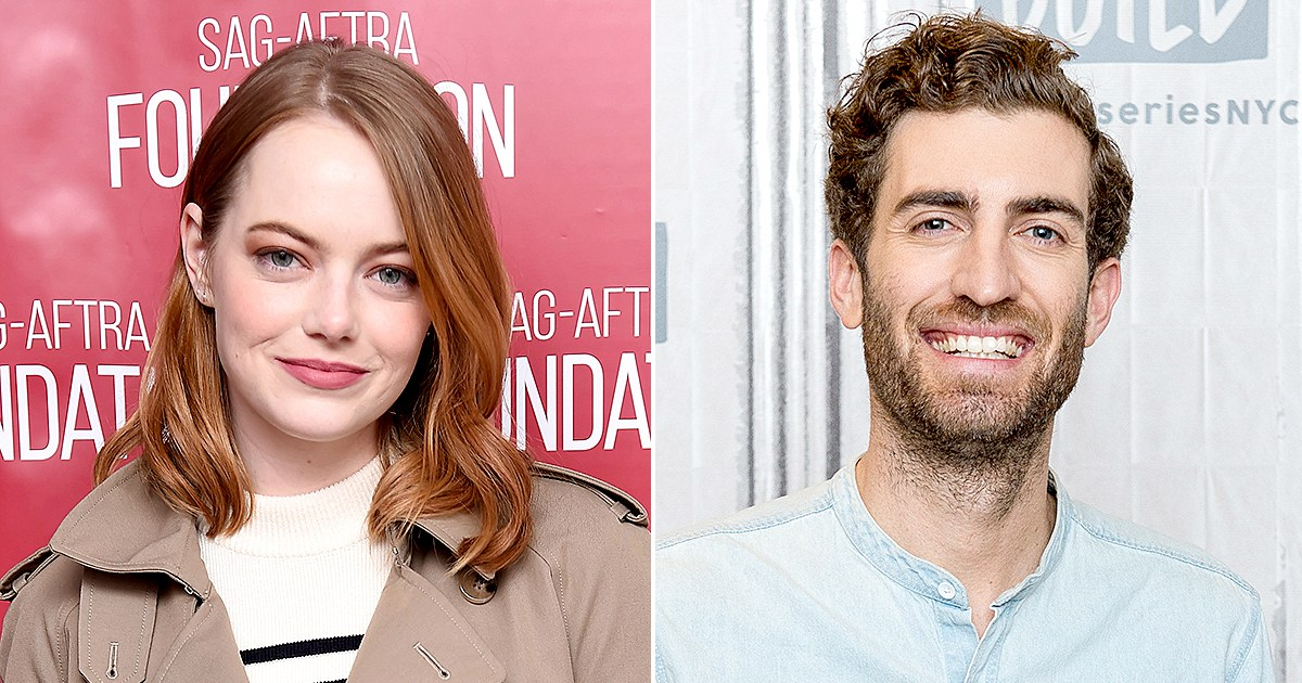 Emma Stone and Boyfriend Dave McCary Were 'Attached at the Hip' at Her Roller-Skating Holiday Party