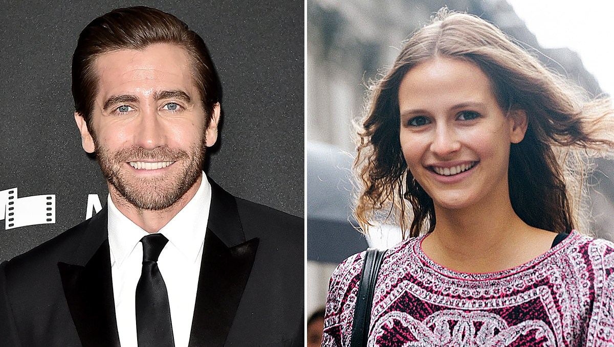 Jake-Gyllenhaal-Dating-Model-Jeanne-Cadieu