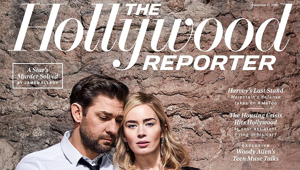 John Krasinski Emily Blunt First Date Hollywood Reporter Rulebreakers