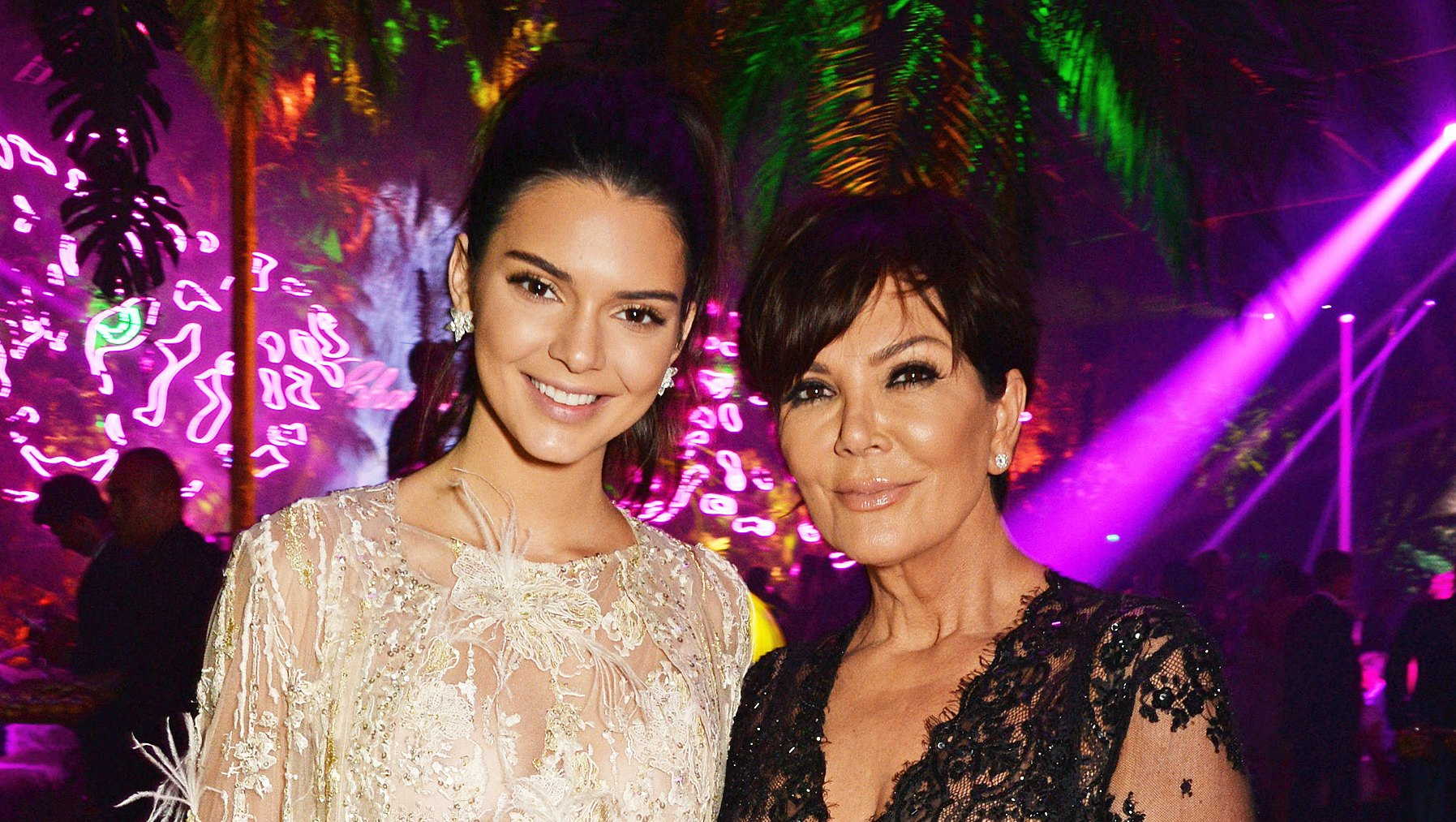 Kendall Jenner Kris Jenner Left Off Of Holiday Card
