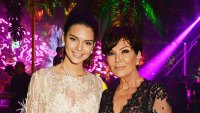Kendall Jenner Kris Jenner Left Off Of Holiday Card