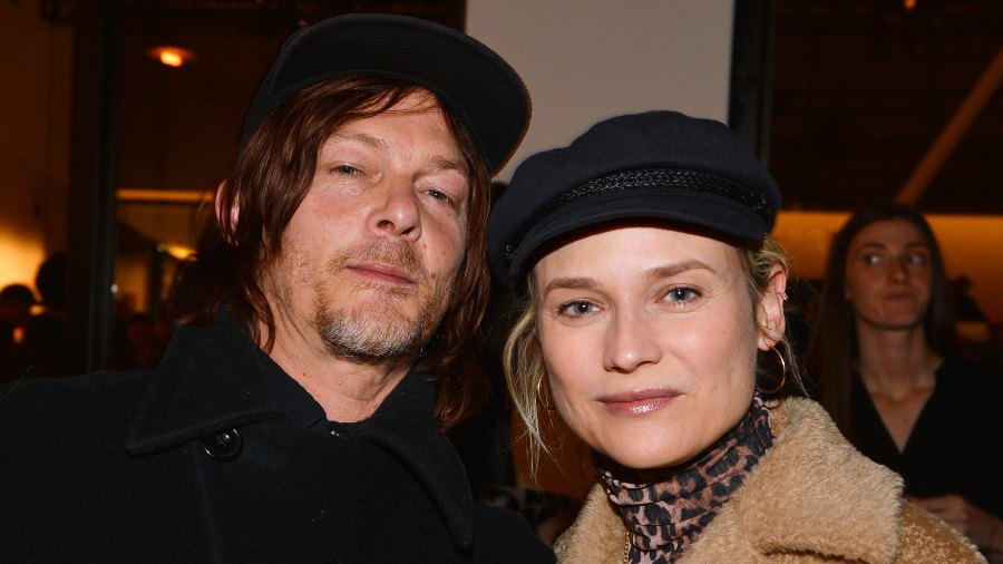 Norman Reedus Diane Kruger First Photo Of Baby