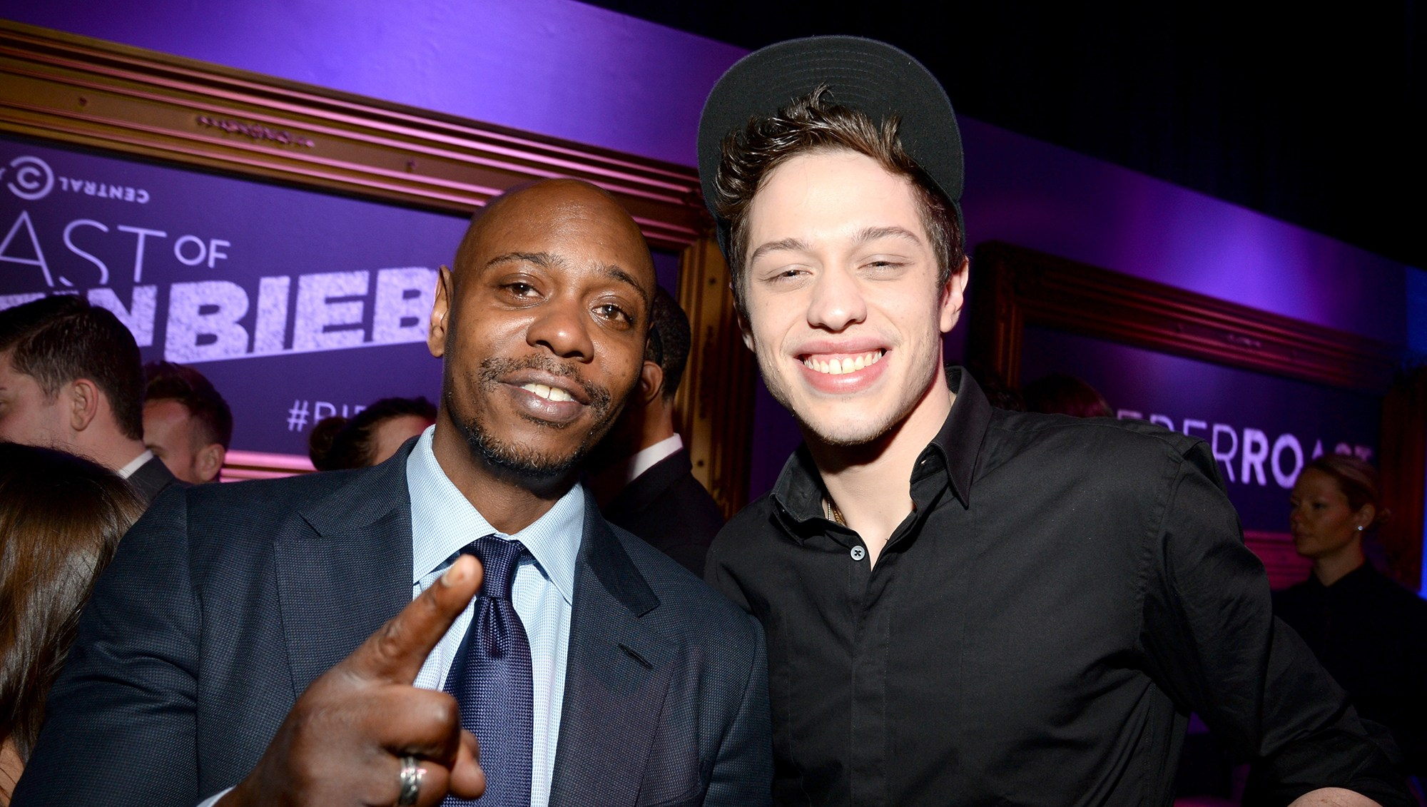 Pete Davidson Spent the Days Leading Up to Christmas in the Woods With Dave Chapelle