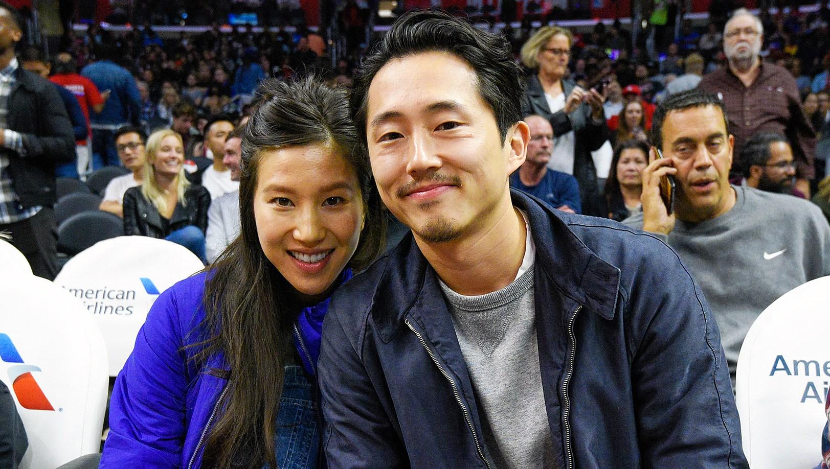 Steven Yeun Wife Joana Pak Pregnant Second Child