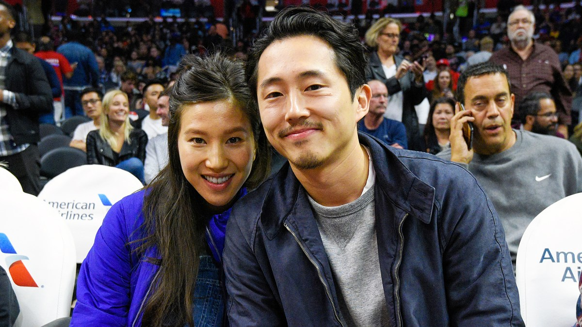 Walking Deads Steven Yeun Wife Joana Pak Expecting Baby No 2