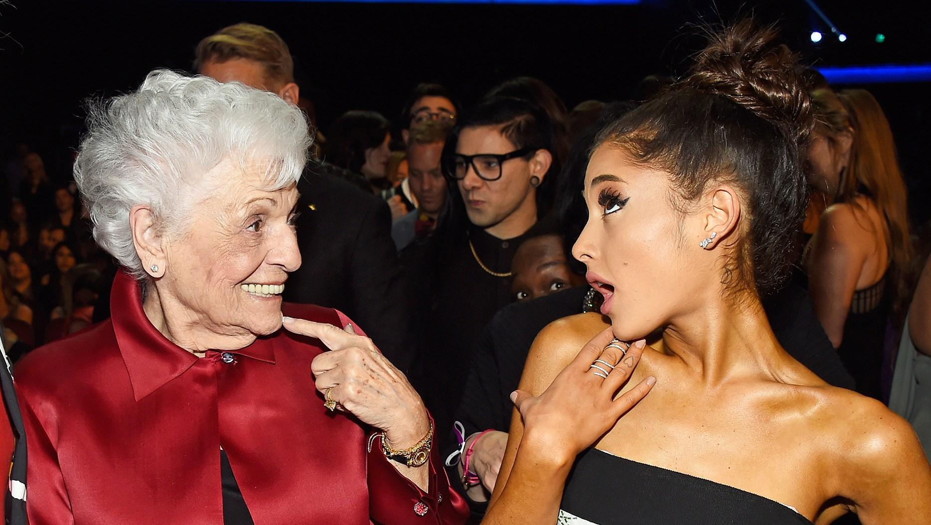 Ariana Grande Nonna Tattoos