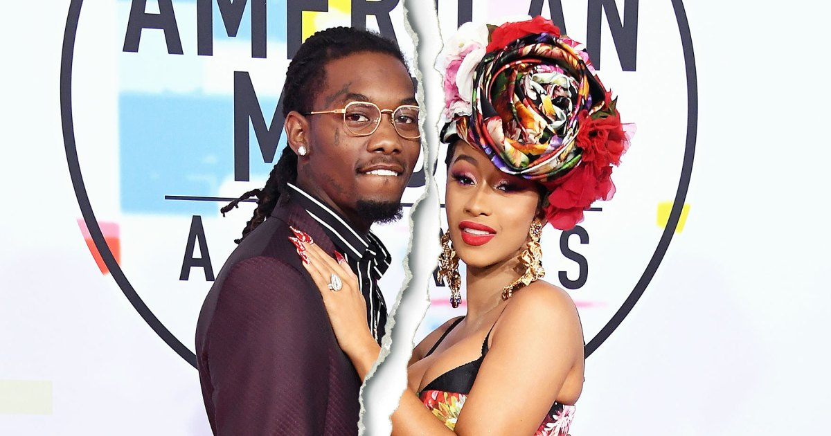 Cardi B Says Offset Has Picked Their Baby S Name: Cardi B Says She And Husband Offset Have Split: 'We Grew