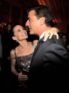 Kristin Davis and Chris Noth