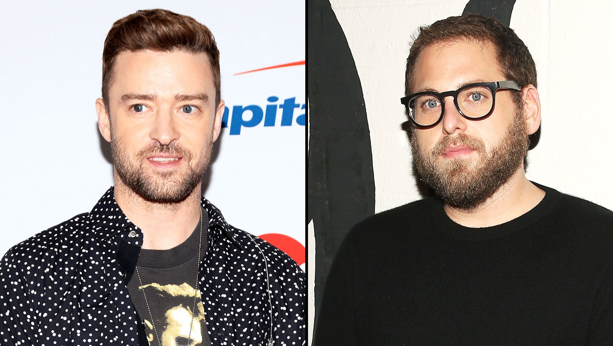 Justin Timberlake and Jonah Hill