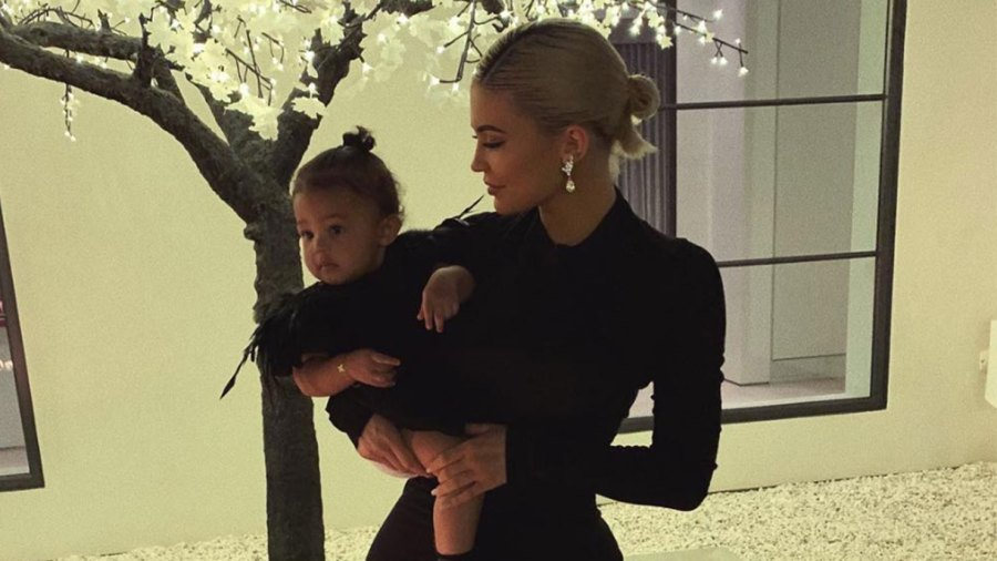 Kylie Jenner and daughter, Stormi