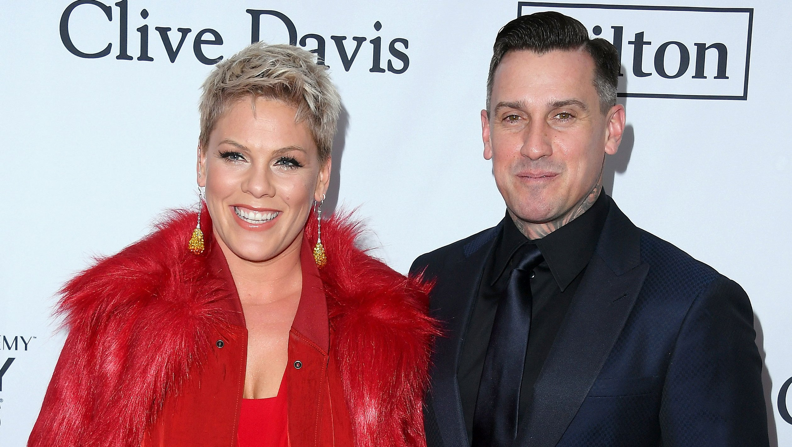 People Are Alarmed About a Photo of Pink's Husband Carey Hart and Their Son