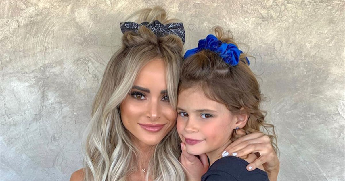 Amanda Stanton Dyes Daughter's Hair, Claps Back at Trolls
