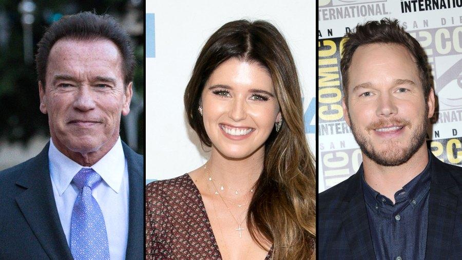 Arnold Schwarzenegger My Daughter Katherine Schwarzengger and Fiance Chris Pratt