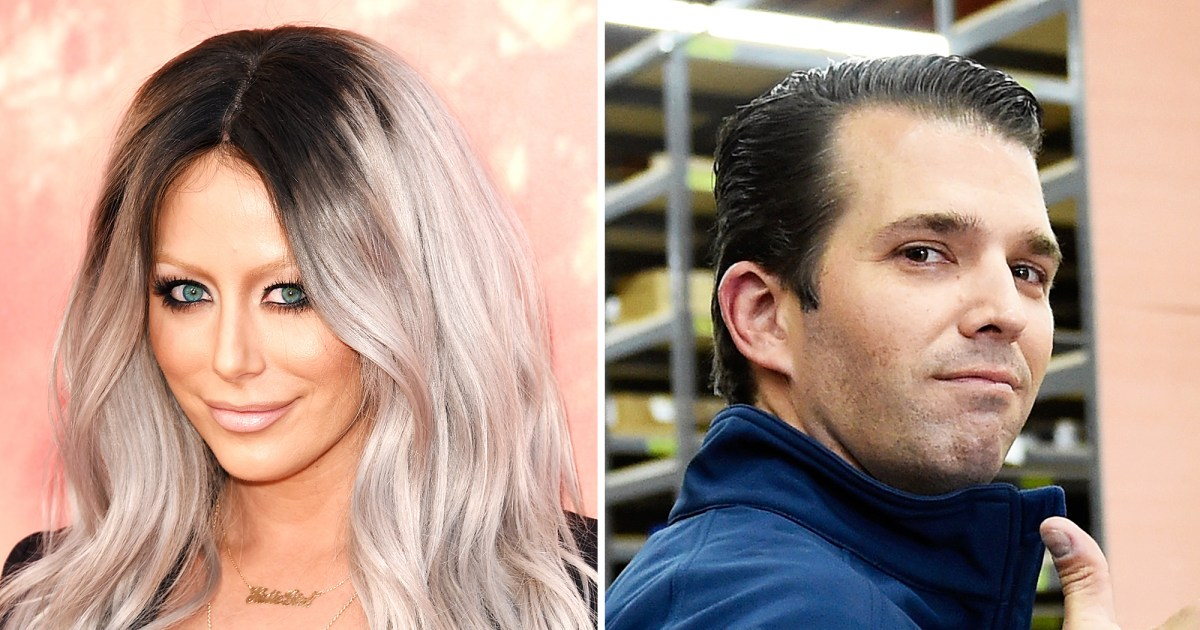 Aubrey O'Day Refuses to Sing to Donald Trump Jr. for ...