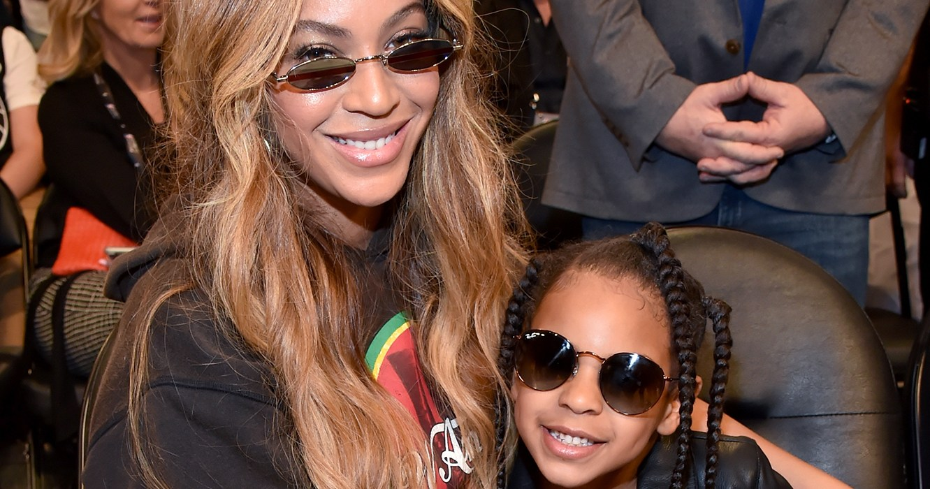 Beyonce, Blue Ivy Are Basically Twins in Throwback Photo