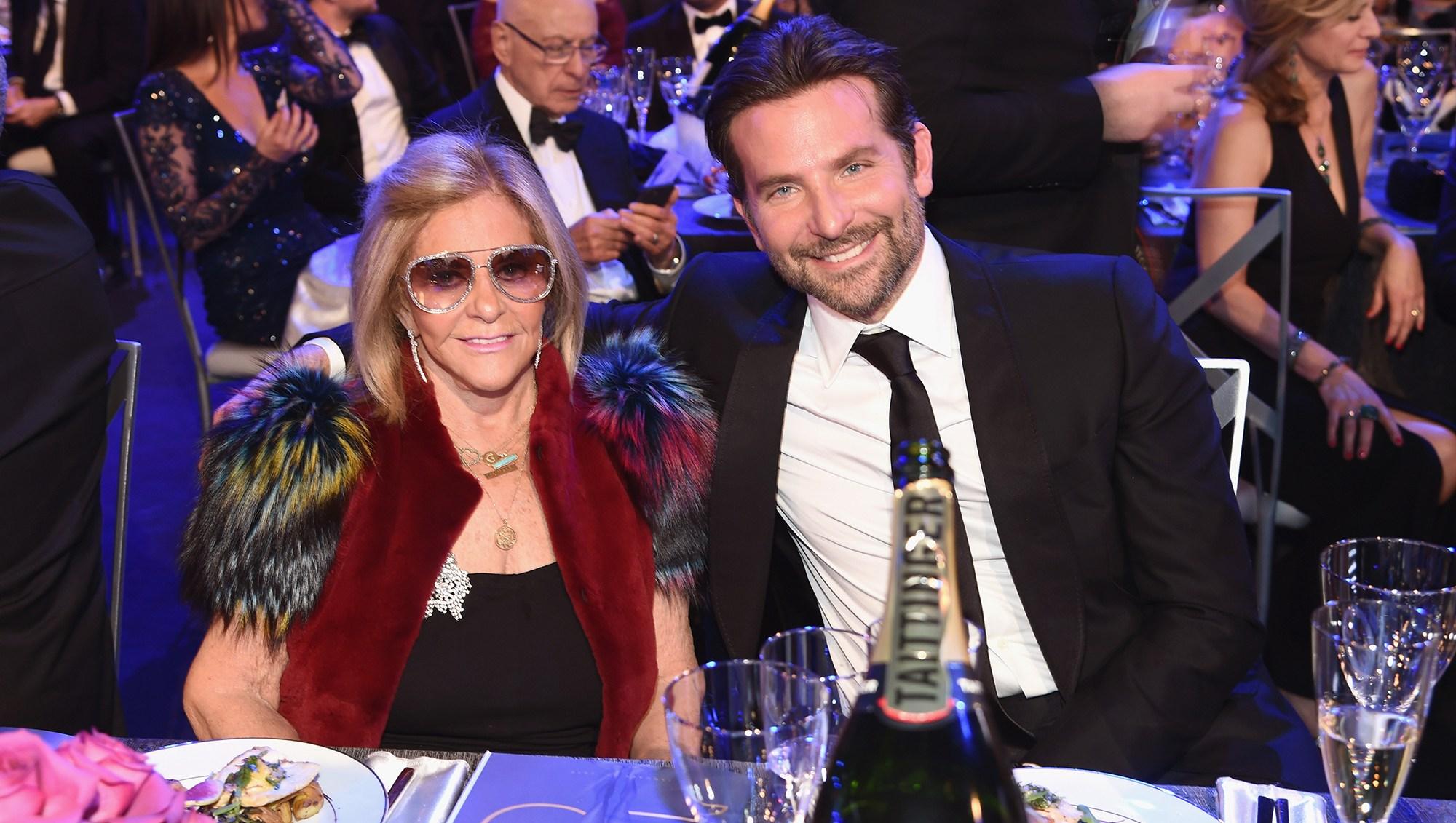Bradley Cooper Brings His Mom to SAG Awards 2019 as Girlfriend Irina Shayk Works in Europe