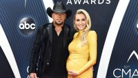 JASON ALDEAN, BRITTANY KERR Is About to Pop Any Second': See Her Bump