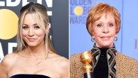 Kaley Cuoco Slams Critics Carol Burnett Standing Ovation