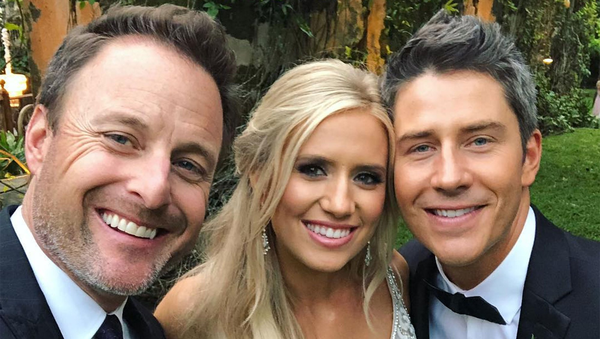 Inside Jokes, Tears and More: Chris Harrison Shares Details on Arie Luyendyk Jr. and Lauren Burnham's Nuptials