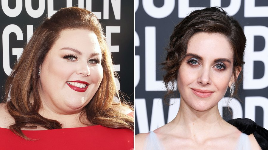 Chrissy Metz Alison Brie Friends Hot Mic Confusion Golden Globes 2019