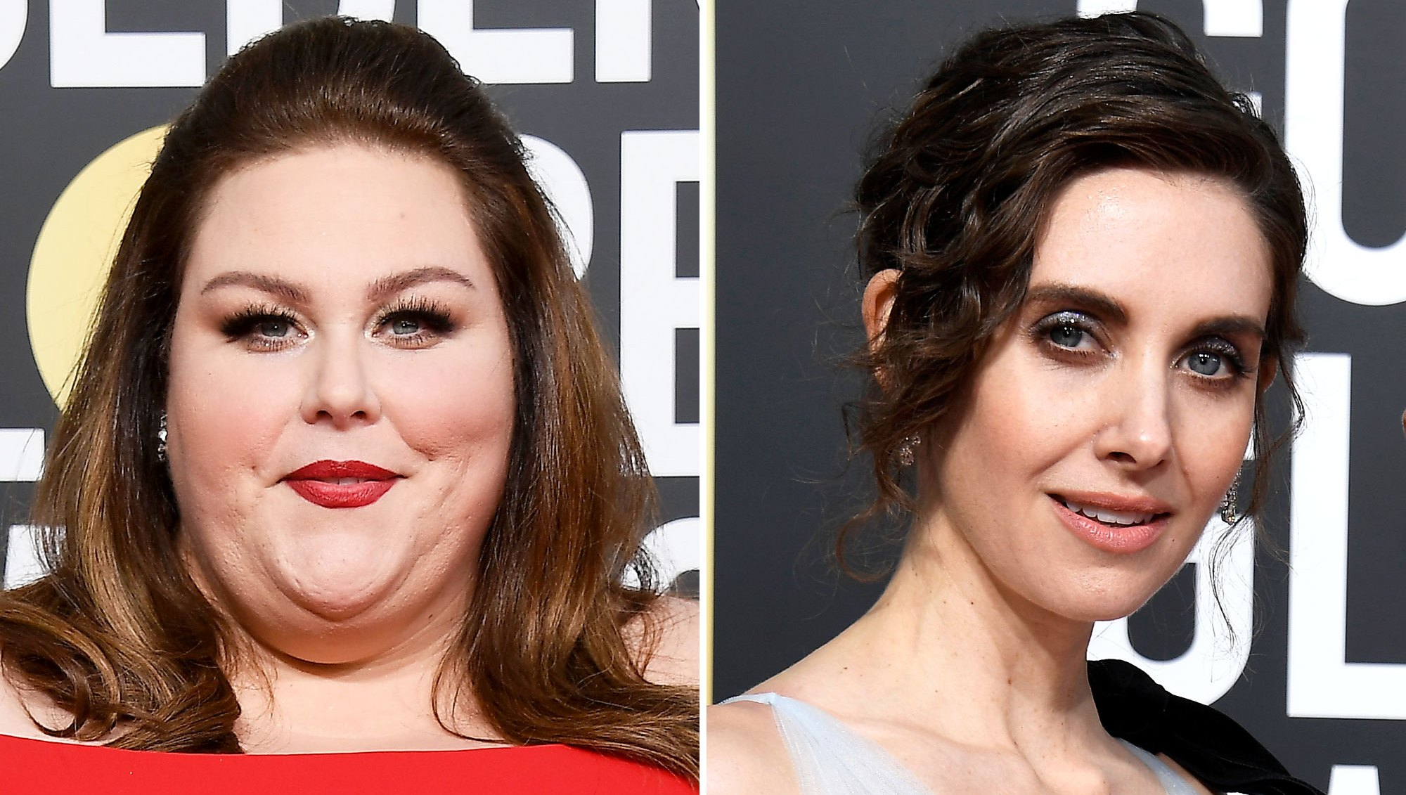 Chrissy Metz Overheard Calling Alison Brie 'Such a Bitch' at Golden Globes 2019 Pre-Show