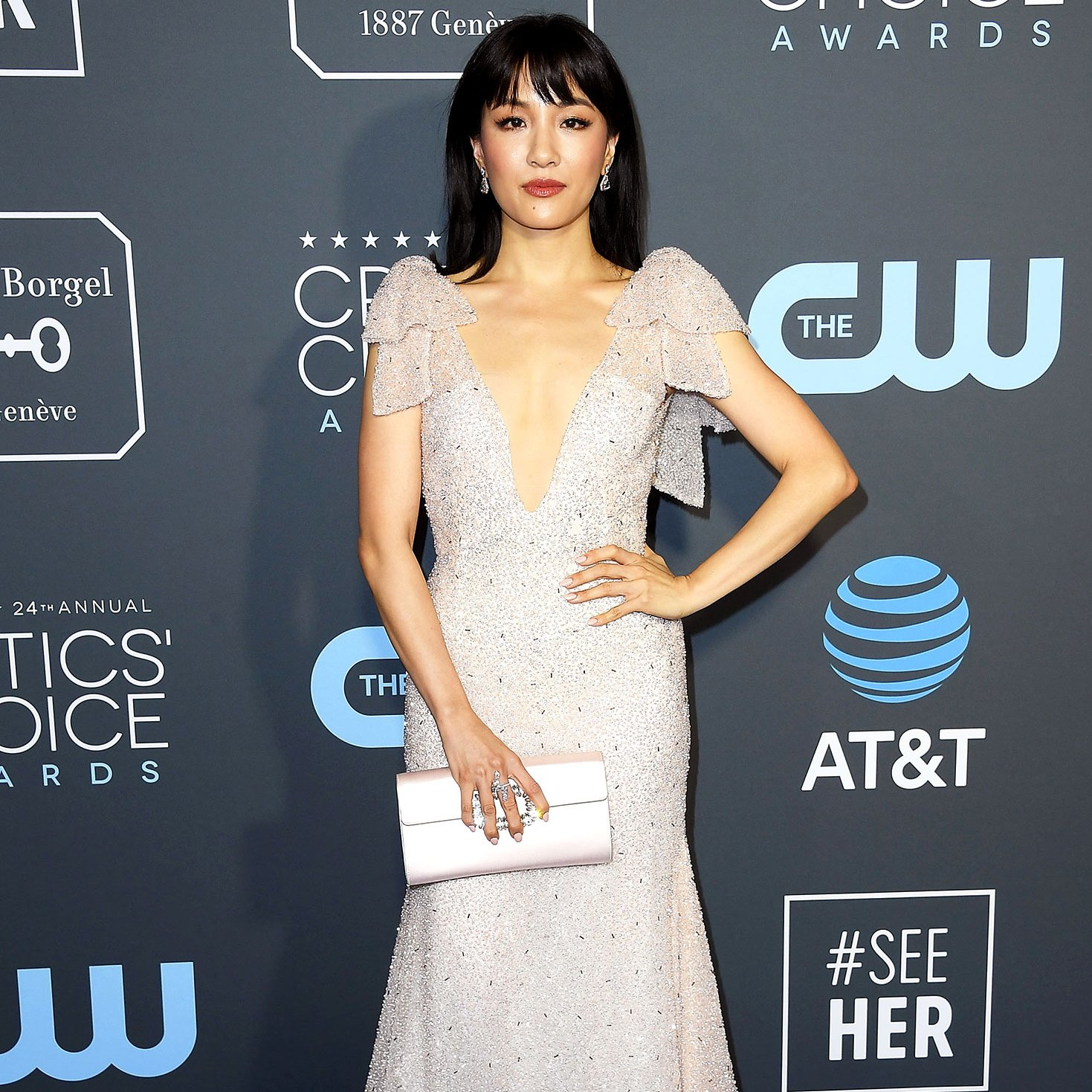 Constance Wu arrives at the The 24th Annual Critics' Choice Awards