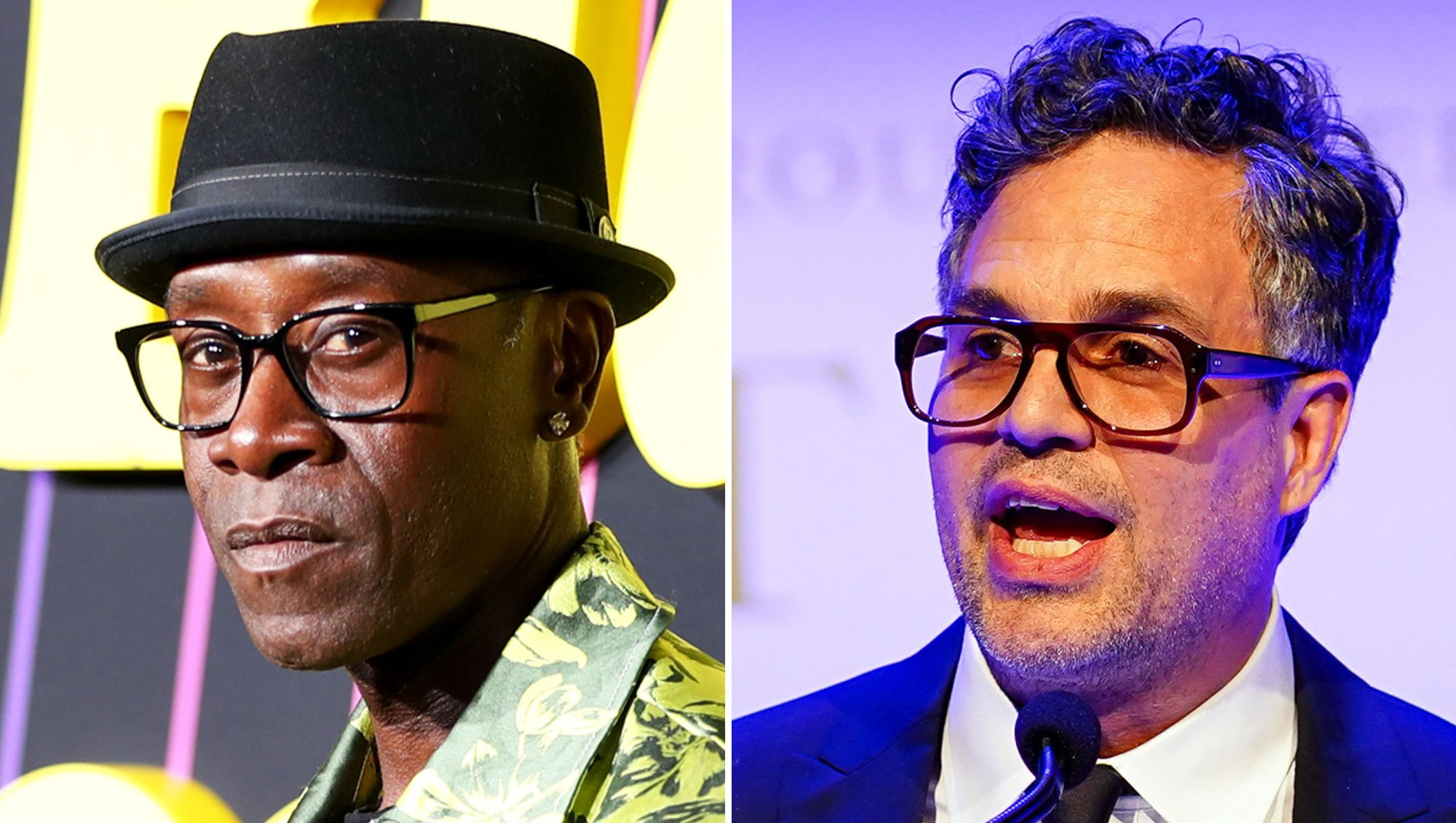 Don Cheadle Won't Do Press With Mark Ruffalo