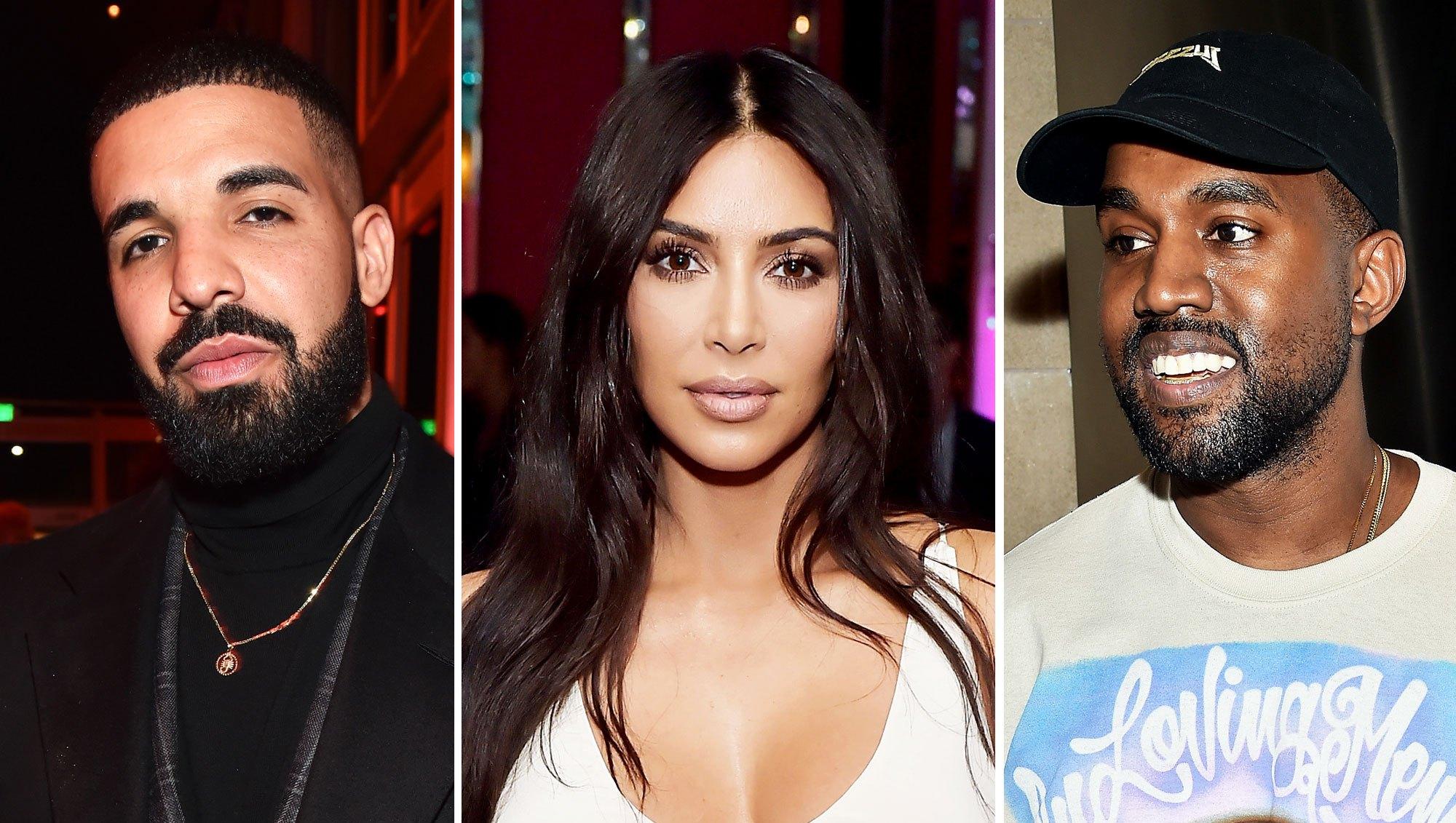 Drake Unfollows Kim Kardashian on Instagram After Kanye West Calls Him Out