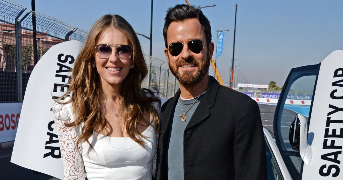 Justin Theroux And Elizabeth Hurley Spark Dating Rumors