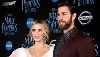 Emily Blunt Says 'It Was Wonderful' to See Husband John Krasinski Cry During 'Mary Poppins Returns'