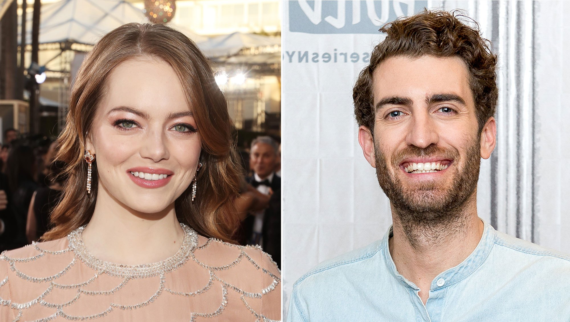 Emma Stone Brought Her BF to the GG Afterparties