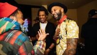 Jay Z, Meek Mill and Joe Budden