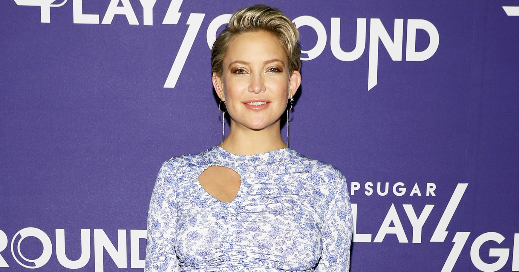 Kate Hudson Breast-Feeds Daughter While Working Out