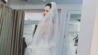 Katharine McPhee wedding dress