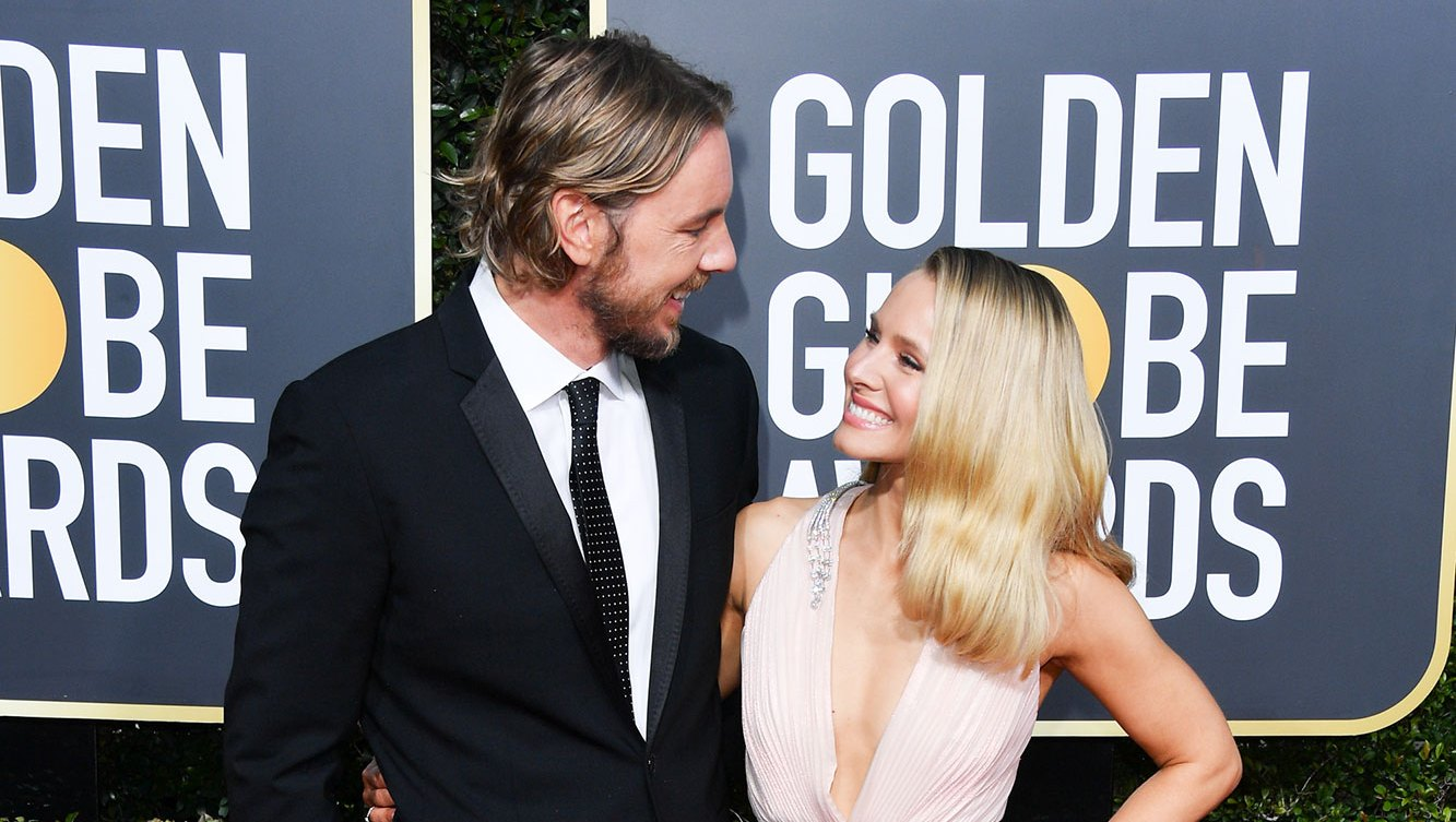 Dax Shepard and Kristen Bell golden globes 2019 Kristen Bell Shakes Off Dax Shephard Cheating Rumors: 'We Have a Happy Marriage'