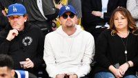 Leonardo DiCaprio Lakers Game Hiding In Plain Sight