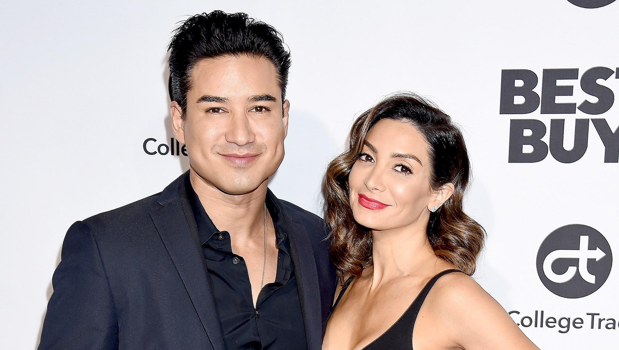 Mario-Lopez-and-Courtney-Laine-Mazza-expecting