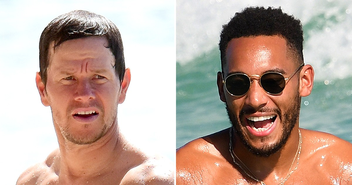 Hunks in Trunks! The Hottest Celebrity Men of 2019 Flaunt Their Pecs and Abs on the Beach