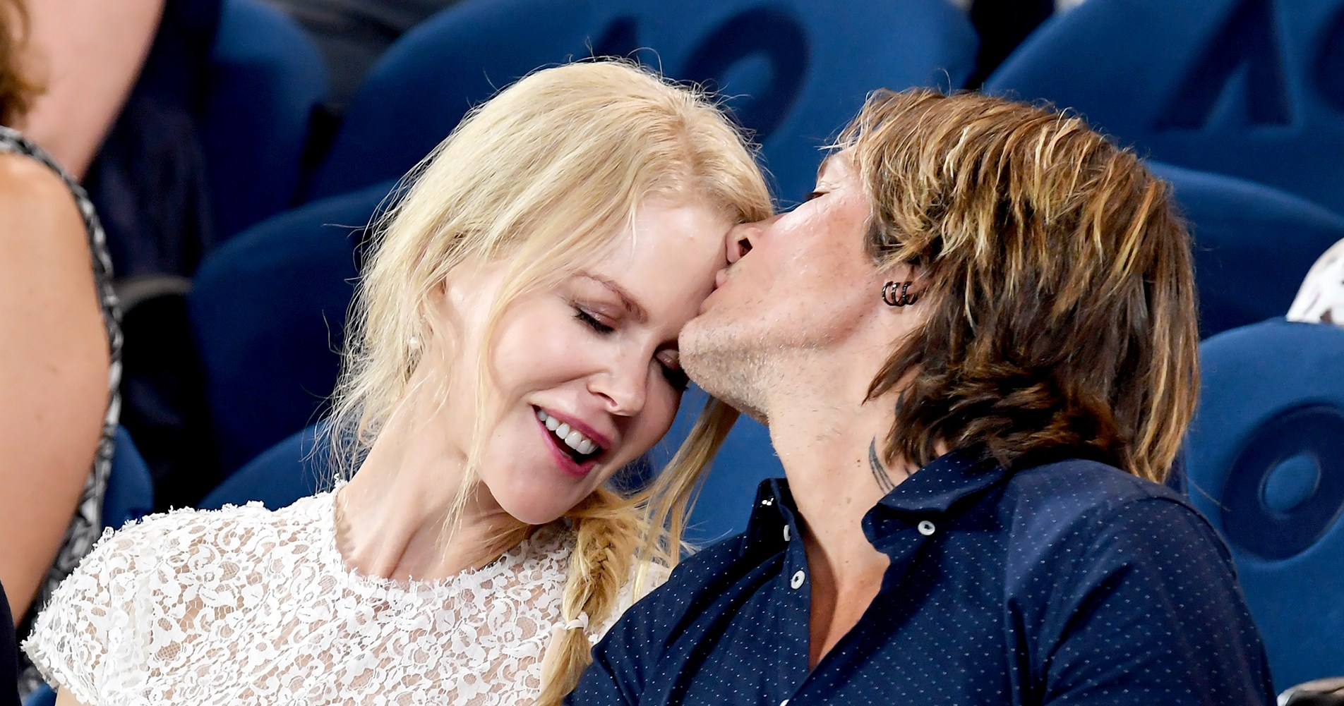 Nicole Kidman and Keith Urban Caught Kissing at the 2019 Australian Open