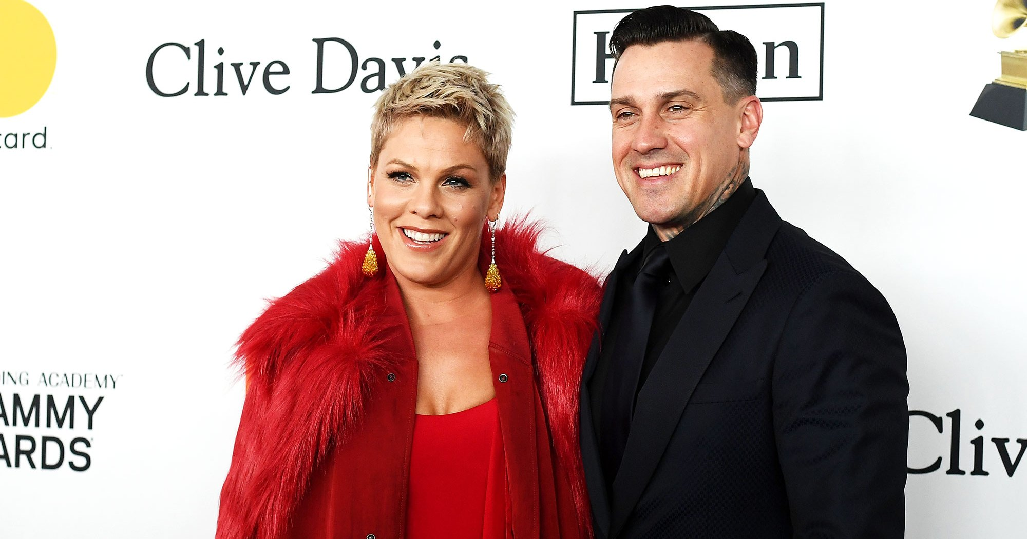 Pink, Carey Hart's Family Rides Dirt Bike Without Helmets: Photo