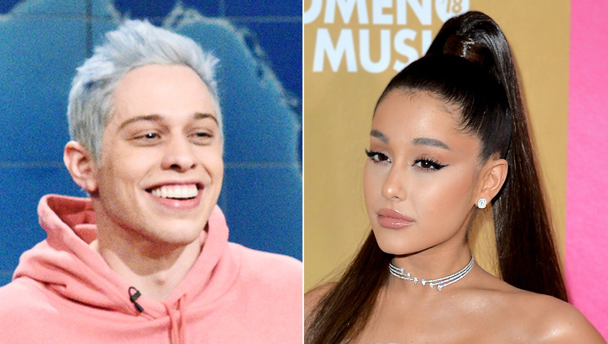 Pete Davidson Jokes About Ex Ariana Grande Praising the Size of His Manhood