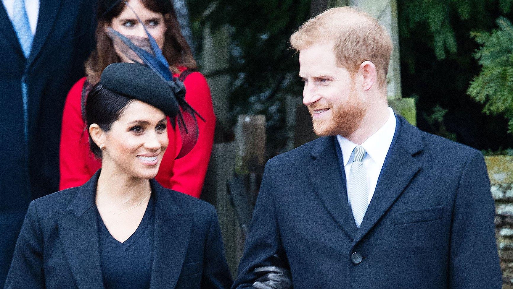 Prince Harry Doting On Duchess Meghan