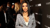 Cardi B's Daughter Kulture Wears Breathing Mask As She Fights Off Viral Infection