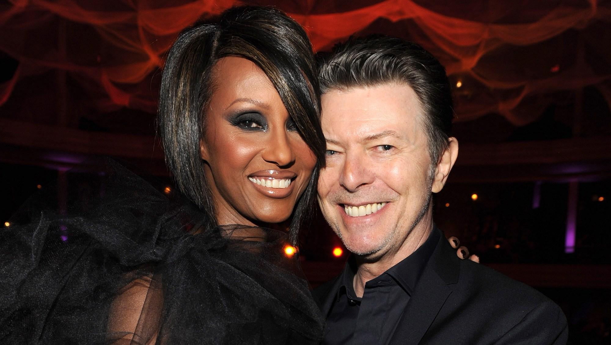 Iman and David Bowie birthday