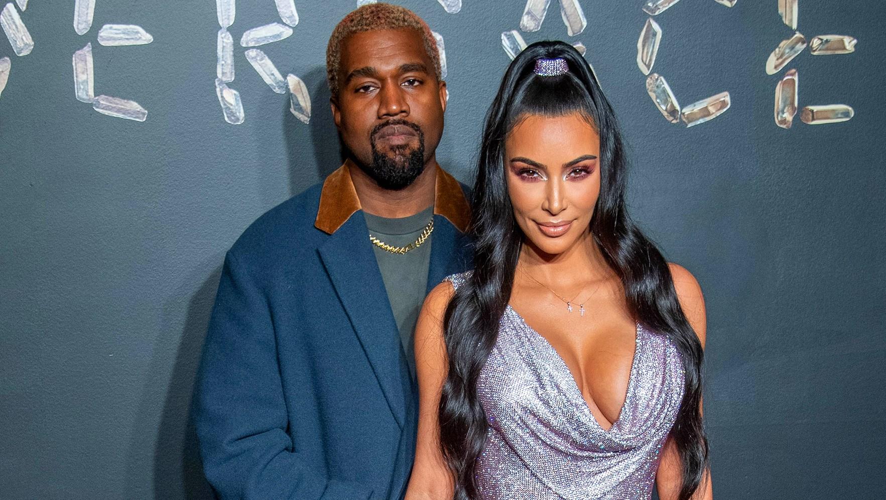 Kanye West and Kim Kardashian West surrogate